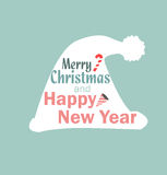 Christmas hat vector new year Royalty Free Stock Photography
