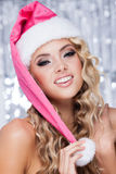 Christmas hat Stock Image