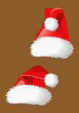 Christmas hats Royalty Free Stock Image