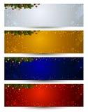 Christmas Header Royalty Free Stock Photos