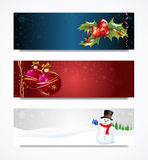 Christmas Header Royalty Free Stock Photo