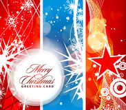 Christmas header colorful design Royalty Free Stock Photography