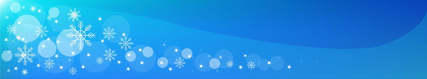 Christmas Header. Vector Stock Images