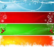Christmas headers Stock Photography
