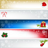 Christmas Headers. Vector  Stock Photos