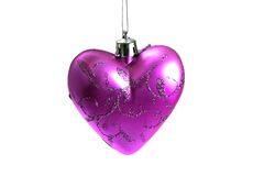 Christmas heart Royalty Free Stock Photography
