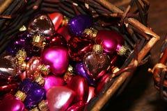 christmas heart Στοκ φωτογραφία με δικαίωμα ελεύθερης χρήσης