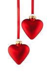 Christmas heart. Against a white background Royalty Free Stock Photos