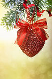 Christmas heart Royalty Free Stock Image