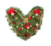 Christmas heart Stock Photos