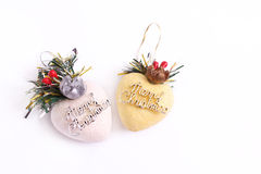 Christmas heart decoration Royalty Free Stock Photos