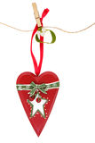 Christmas Heart Decoration Stock Photos