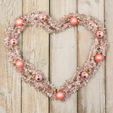 Christmas heart Royalty Free Stock Images