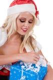 Christmas Helper Gift Stock Photo