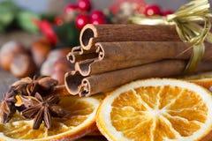 Christmas herbs Royalty Free Stock Image