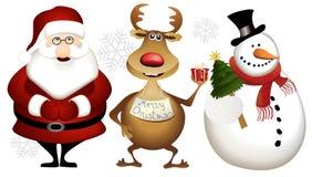 Christmas heros Stock Photography