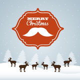 Christmas hipster style Royalty Free Stock Photography