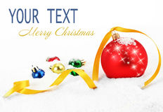 Christmas holiday. Christmas pictures on a light background Stock Image
