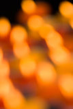 Christmas holiday background. Of sparkling blurred golden lights Stock Image