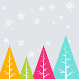 Christmas holiday background. Colorful merry christmas design illustration Stock Photography