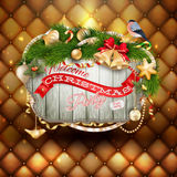 Christmas holiday background. EPS 10 Stock Image