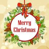 Christmas holiday background Stock Photography