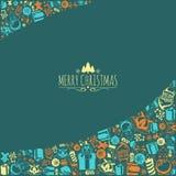 Christmas holiday background. Royalty Free Stock Photo
