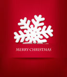 Christmas holiday background with snowflake. Royalty Free Stock Photography