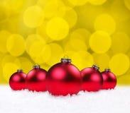 Christmas Holiday Bauble Bulbs Royalty Free Stock Photography