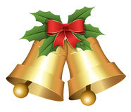 Christmas Holiday Bells Vector Illustration Royalty Free Stock Image