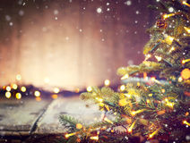 Christmas holiday blurred background Royalty Free Stock Photography