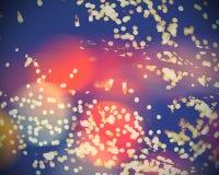 Christmas Holiday Bokeh Stock Photo