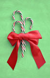 Christmas holiday candy canes Stock Photos