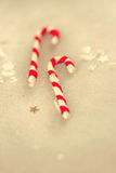 Christmas holiday candy sticks Stock Photos