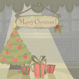 Christmas holiday card Royalty Free Stock Photo