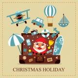 Christmas Holiday Card Royalty Free Stock Image