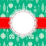 Christmas holiday card Stock Image