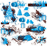 Christmas Holiday clip art Royalty Free Stock Photo