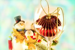 Christmas holiday decorations Royalty Free Stock Photography