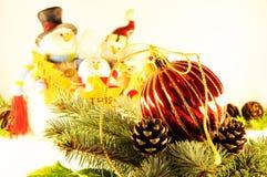 Christmas holiday decorations Stock Image