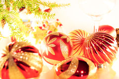 Christmas holiday decorations Stock Photo