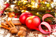 Christmas holiday decorations Royalty Free Stock Photos