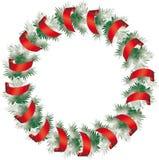 Christmas holiday frame Royalty Free Stock Photo