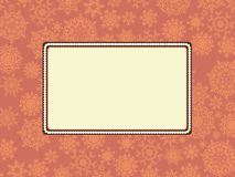 Christmas or holiday frame. EPS 8. File included vector illustration
