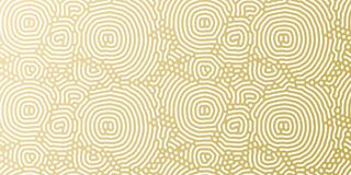 Christmas holiday golden background template for greeting card or gift wrapping paper design. Vector gold abstract pattern for Chr Stock Photos