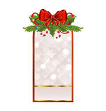 Christmas holiday greeting card Royalty Free Stock Photo