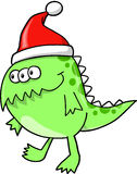 Christmas Holiday Monster Alien Royalty Free Stock Photo
