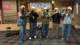 Christmas Holiday Music stock video footage