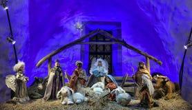 Christmas Holiday Nativity Scene Royalty Free Stock Image