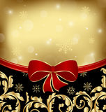 Christmas holiday ornamental decoration Royalty Free Stock Images